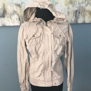 Aeropostale zip up jacket with hood sz M